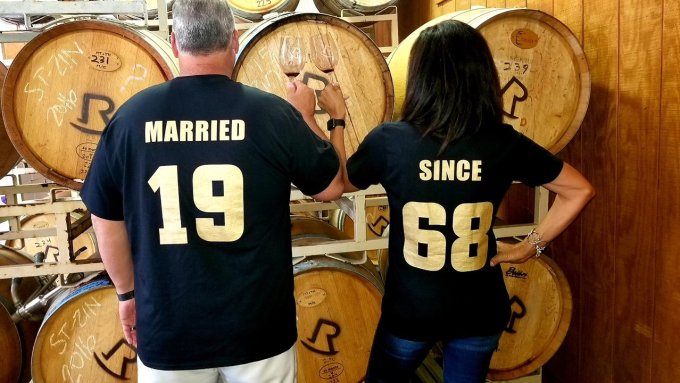 couples shirts married since