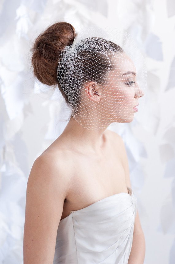 birdcage veil ideas for the bride