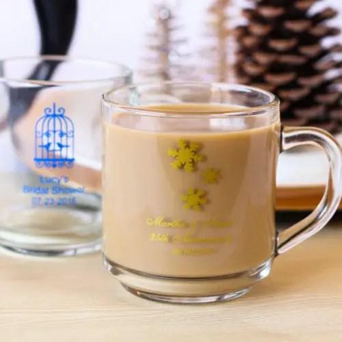 wedding favors ideas - personalized coffee mug favors via http://shrsl.com/153u6