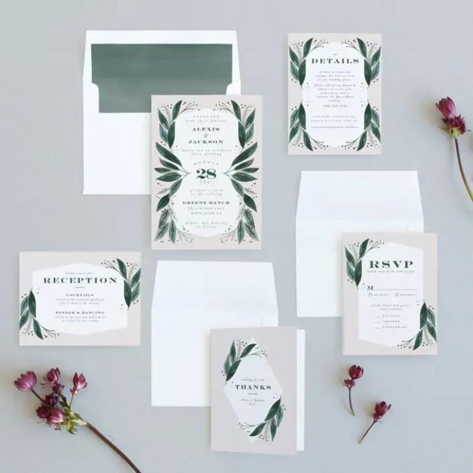 wedding invitation ordering