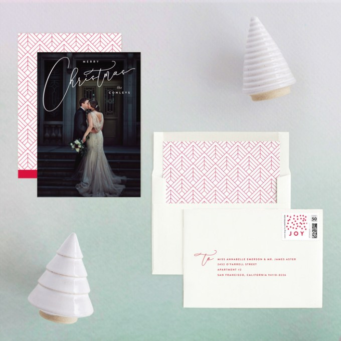 newlywed christmas card ideas