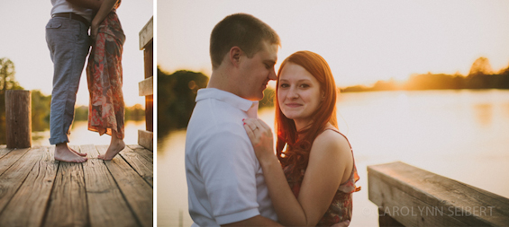 Carolynn Seibert Photography - LSU Lakes engagement shoot