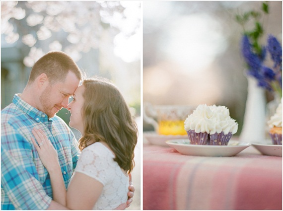 Stefanie Kapra Photography - Cherry Blossom Engagement photos