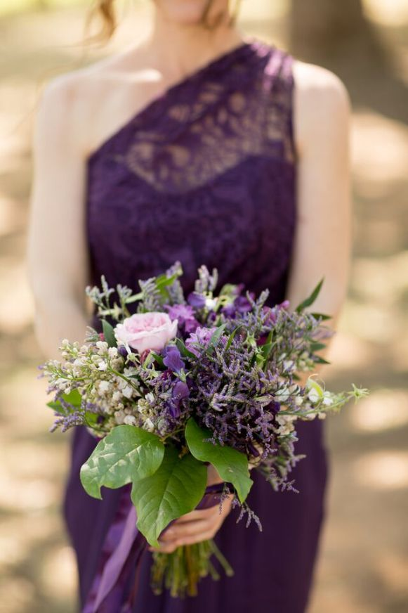 Winery Styled Wedding Shoot - Bridesmaid and Bouquet