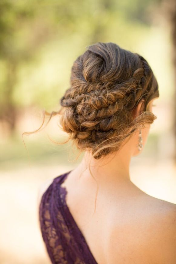 Winery Styled Wedding Shoot - The Maid of Honor's Hairstyle