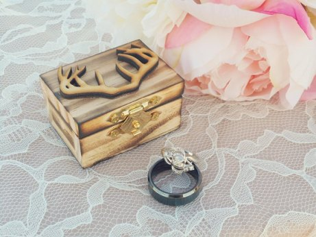 antler ring box by down in the boondocks