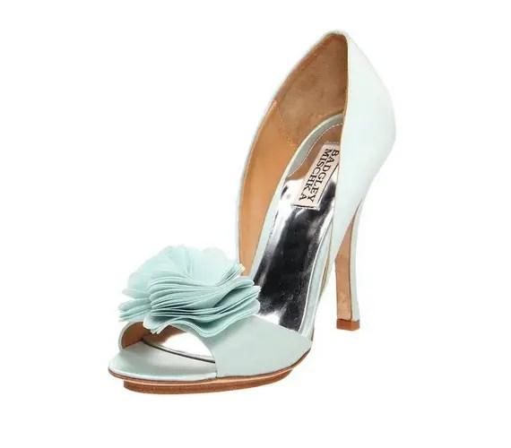 blue badgley mishka heels randall d'orsay style