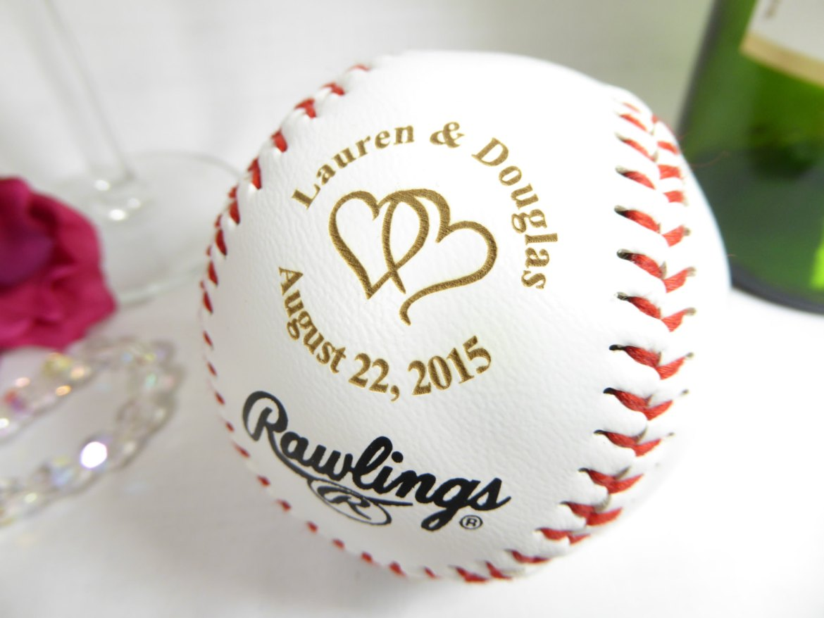 baseball guest book by engraving wiz