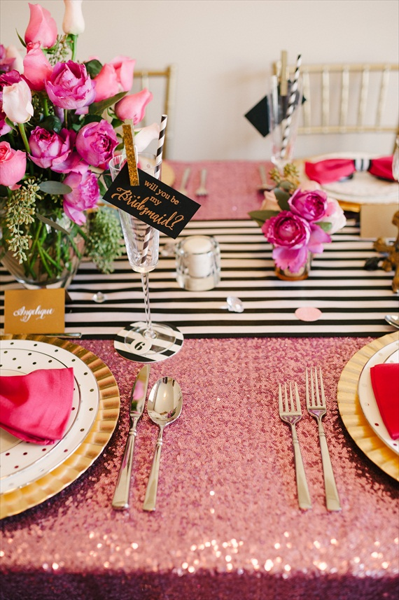 Fun Idea:  Throw a Be My Bridesmaid Party (via The Perfect Palette, photo: Lauren Rae Photography