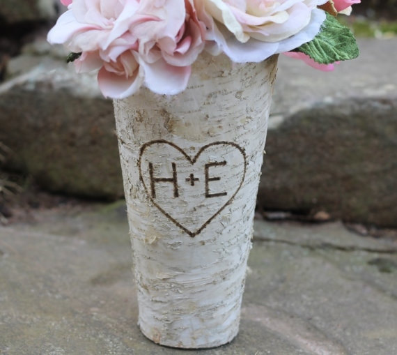 birch vases | 50+ Amazing Mountain Wedding Ideas http://emmalinebride.com/rustic/mountain-wedding-ideas/