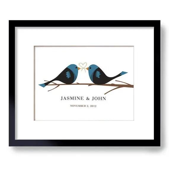 bird wedding theme print   via wedding prints personalized by theme