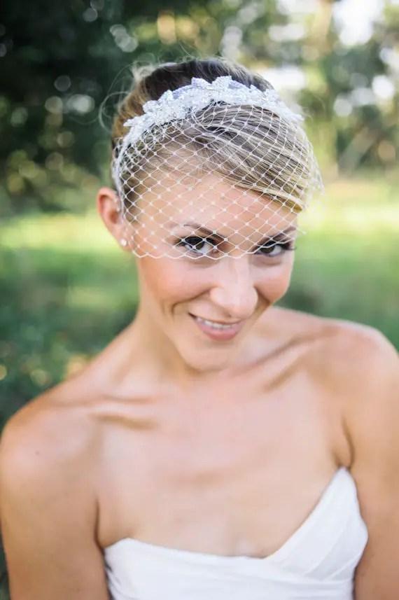 birdcage-veil-headband