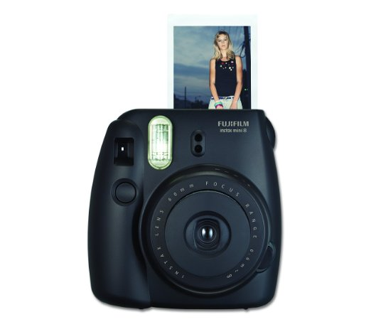 Instant Photo Camera in Black