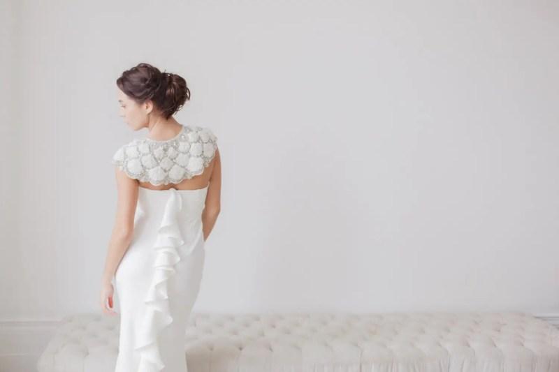 A gorgeous bridal bolero / wrap | http://emmalinebride.com/bride/wedding-cover-ups/