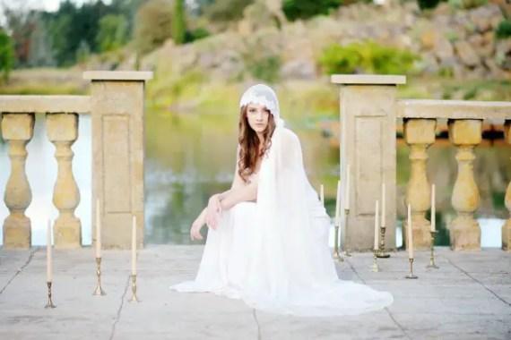 bridal cap | 8 Alternative Wedding Veil Ideas from Tessa Kim