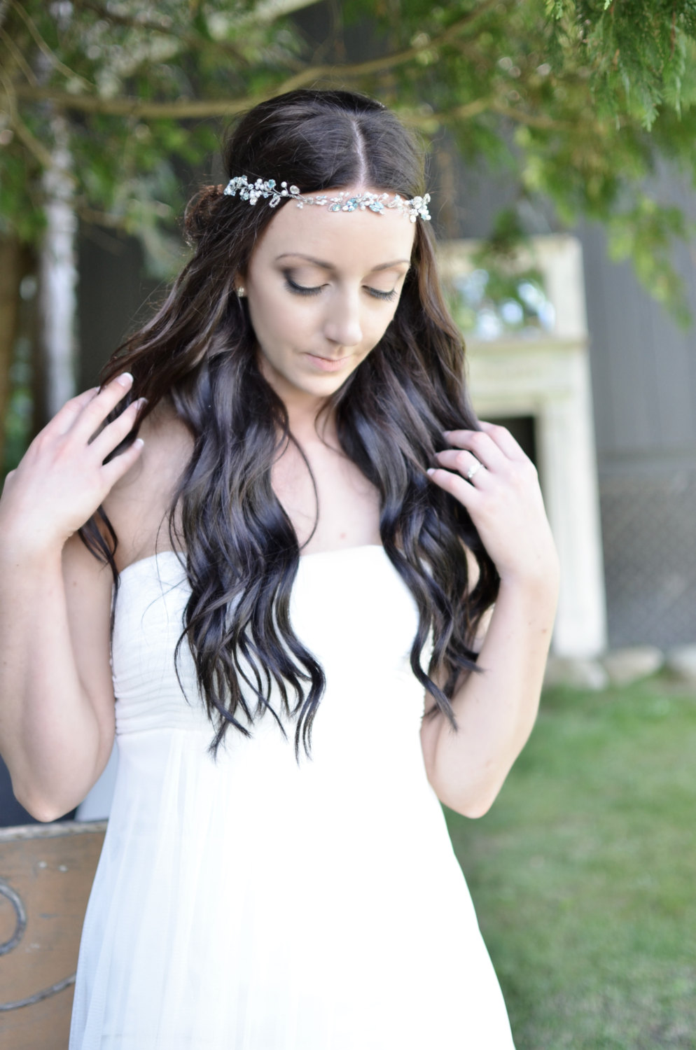 Boho Hair Accessories by J Arends Designs | photo: Glimpse Imaging | http://tinyurl.com/phn7vax