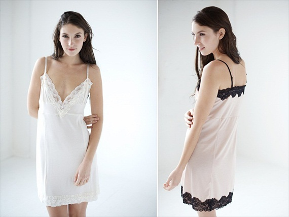bridal nightgown - bridal lingerie (by Tessa Kim)