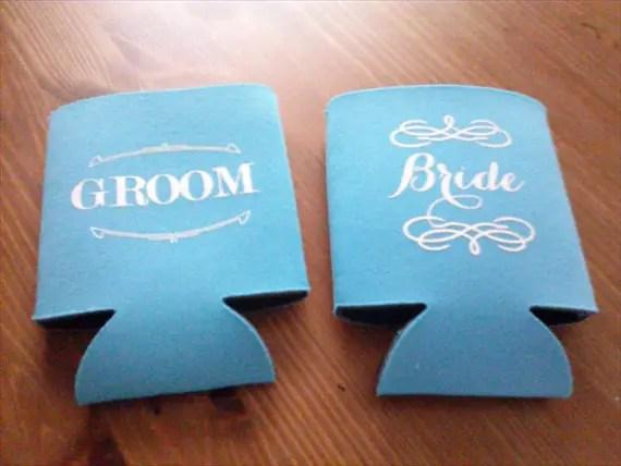 bride groom drink kozies via Subscription Box for Brides: The Bride Box