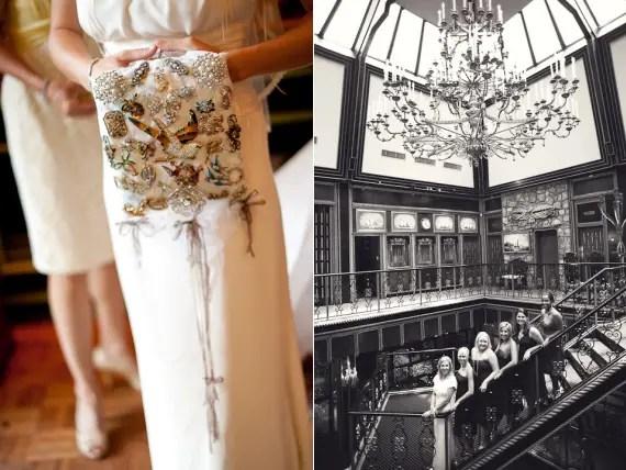 bride-holding-brooch-shawl