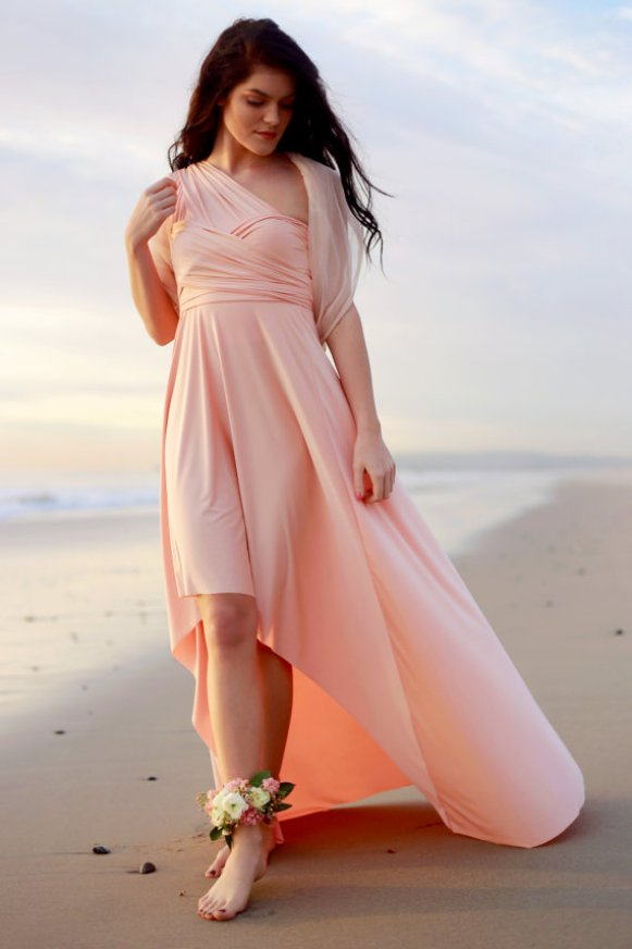 Bridesmaid Cover Ups | by Coralie Beatrix | Photo Tina Chiou | http://emmalinebride.com/bridesmaids/bridesmaid-cover-ups/