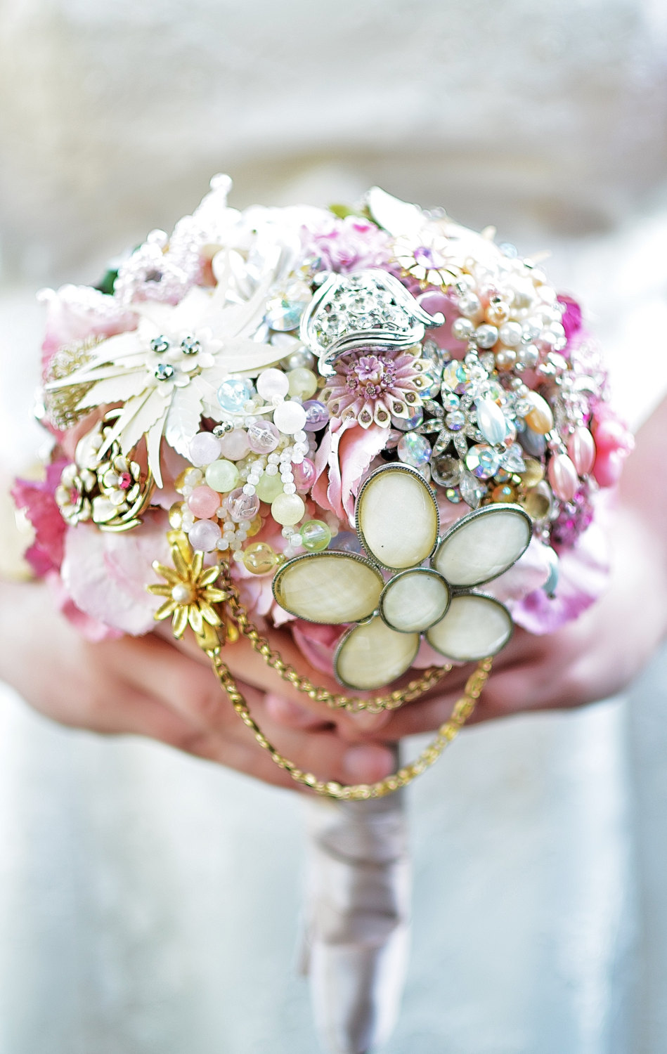 Wedding Brooch Bouquet Ideas Emmaline Bride