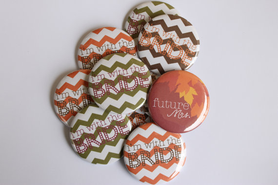 Bachelorette Party Favors - Pinback Buttons