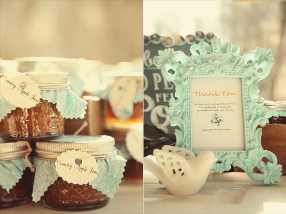 Drozian Photoworks - jam wedding favors and DIY Rustic Barn Wedding