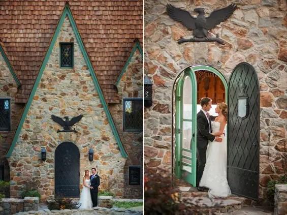 Johnstone Studios - thunderbird lodge wedding - bride and groom at Lake Tahoe Lodge