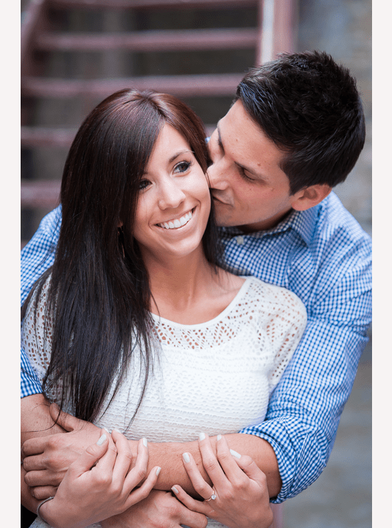 Winsor Photography - kissing in salt lake city