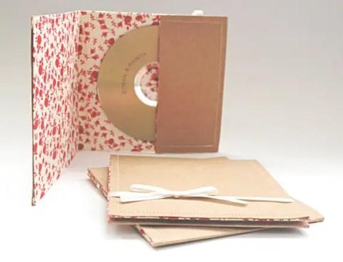 custom cd wedding favor case