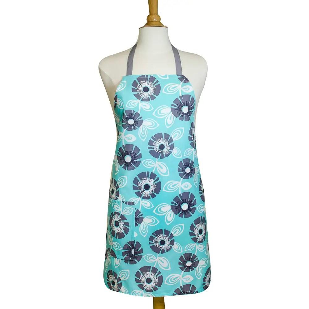 cute apron in blue