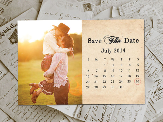 cute calendar via 3 Reasons to Absolutely Send a Save the Date | http://emmalinebride.com/planning/reasons-save-date/