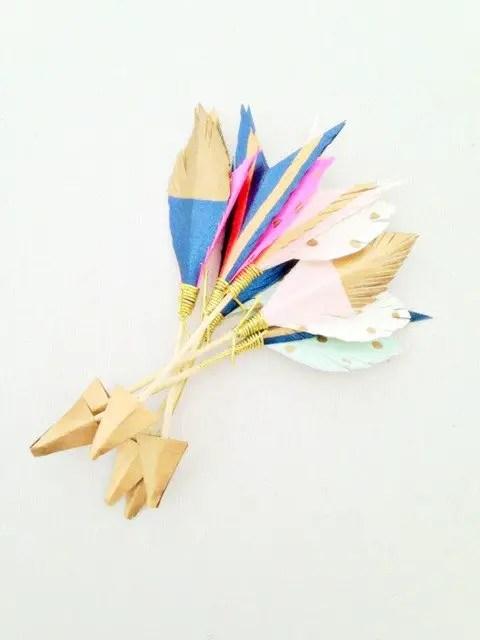 decorative wedding arrows