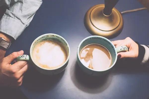 Denver Coffee Shop Engagement Session