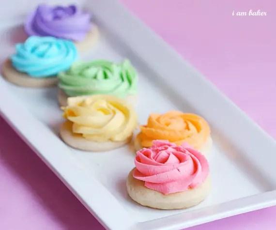 DIY Rose Cookies