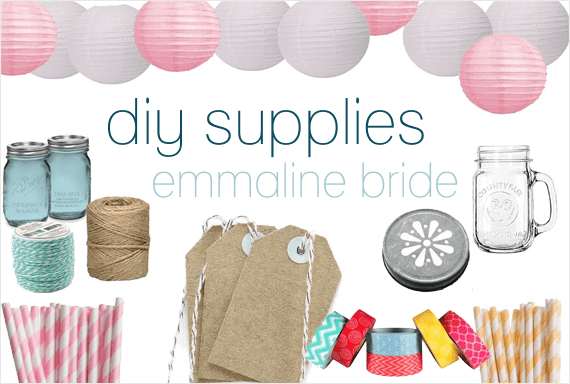 DIY Wedding Supplies
