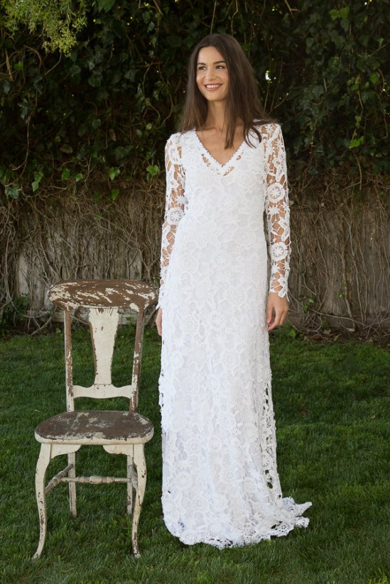 dreamersandlovers bohemian wedding dress