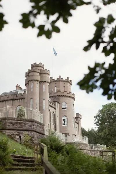 drumtochty castle celtic wedding ceremony
