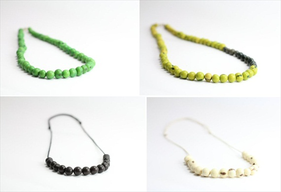 eco-friendly jewelry acai necklaces