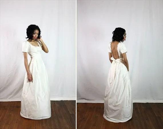 Eco Wedding Ideas - organic fair trade wedding dress by solitary pearl