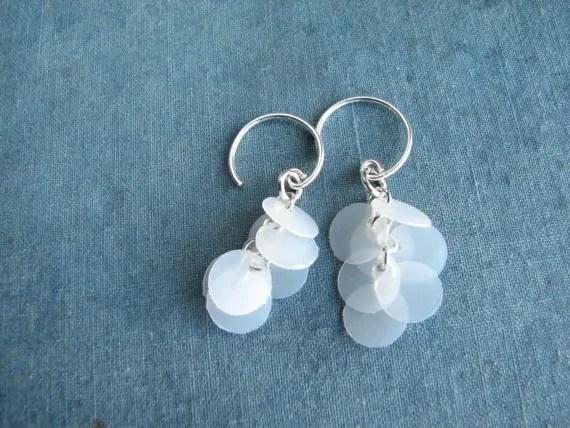 elegant eco-friendly jewelry earrings
