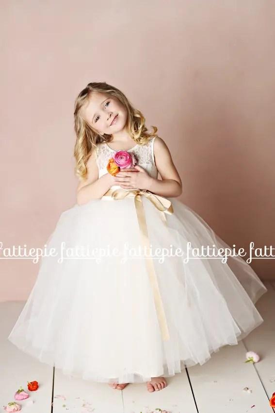 elizabeth flower girl dress (by Fattie Pie) - formal flower girl dresses #wedding
