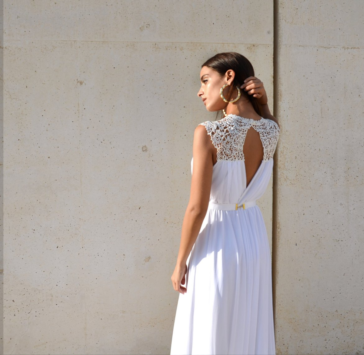 embroidered dress top | dresses boho weddings http://emmalinebride.com/bridal-gowns/dresses-boho-weddings/