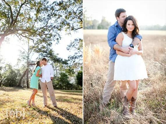 7 Engagement Photo Tips (via EmmalineBride.com) - photo by eric boneske