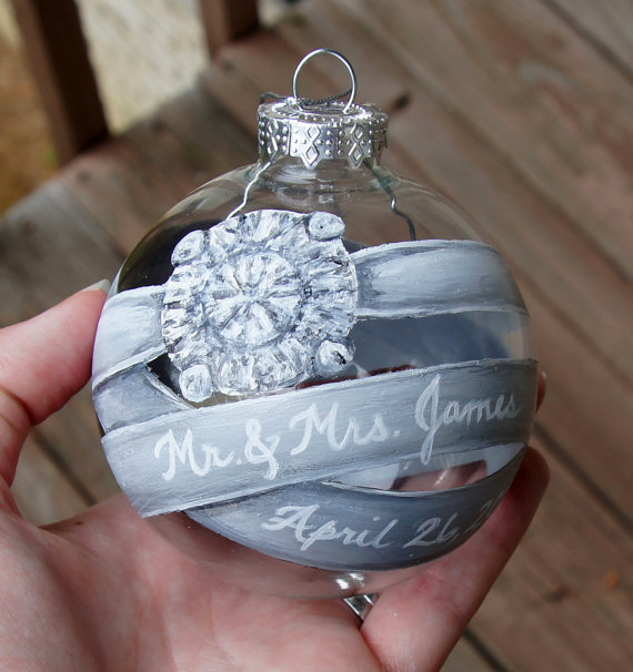 Engagement Ring Box Christmas Ornament