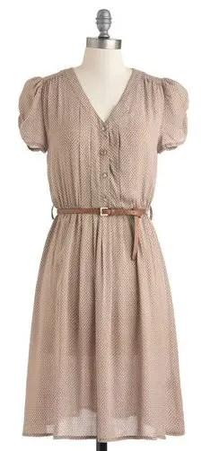 flowy-beige-shirt-dress-style-bridesmaid