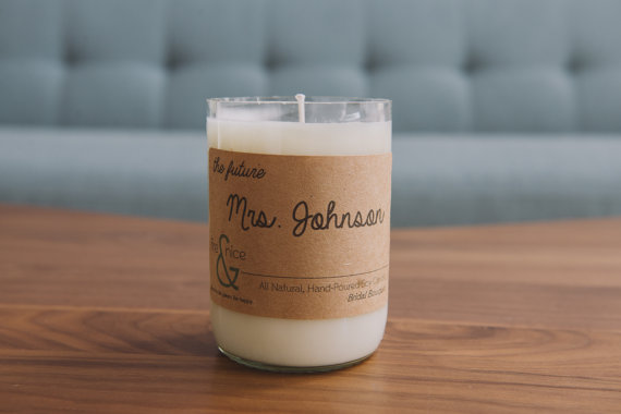 12 Useful Gift Ideas for Newly Engaged - future mrs candle by fire & nice