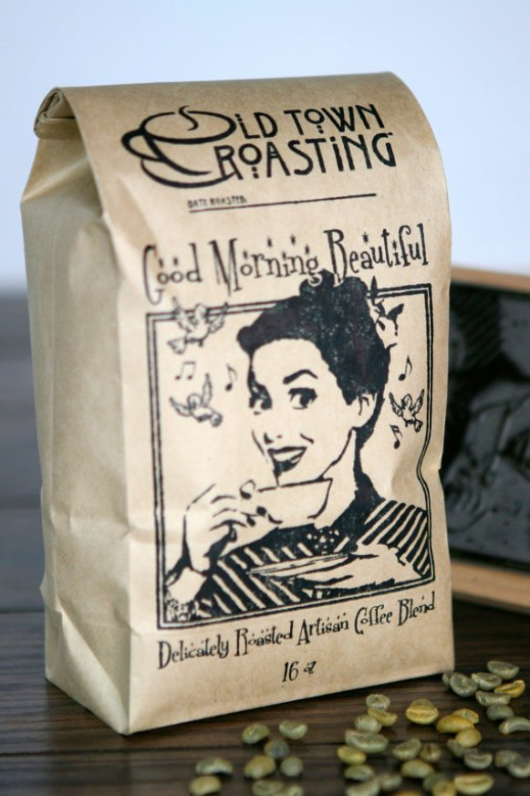 Good Morning, Beautiful Coffee | What to Put in Wedding Welcome Bags | http://emmalinebride.com/planning/wedding-welcome-bags/