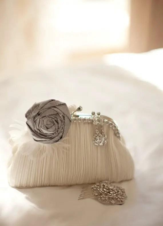 rosette wedding garter