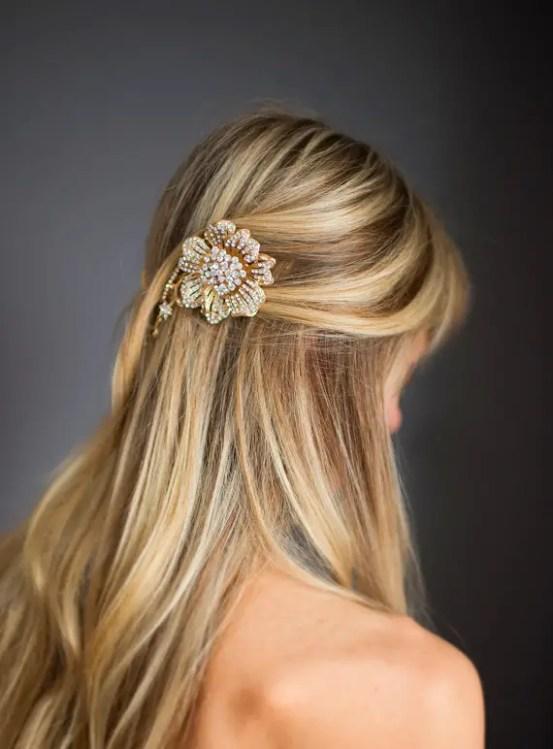bridal hair chain | via http://emmalinebride.com/bride/bridal-hair-chain/